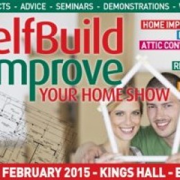 Free Entry into the 2015 SelfBuild & Improve Your Home Show, Belfast